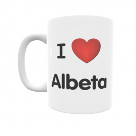 Taza - I ❤ Albeta