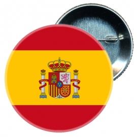 Chapa 58 mm Bandera España ES