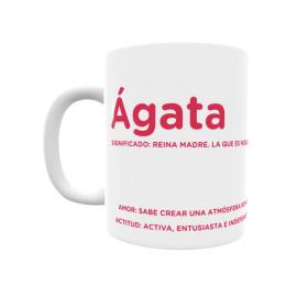 Taza - Ágata