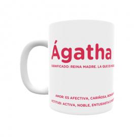 Taza - Ágatha