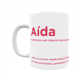 Taza - Aída