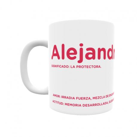 Taza - Alejandra