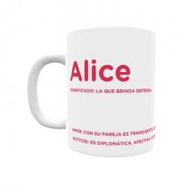 Taza - Alice