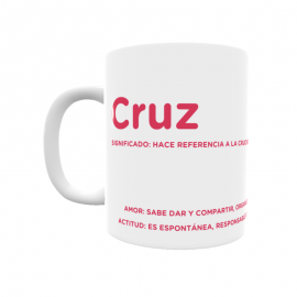 Taza - Cruz