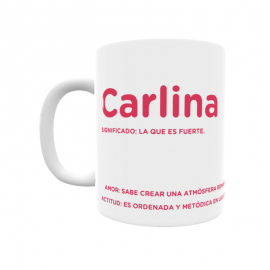Taza - Carlina