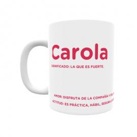 Taza - Carola