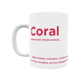 Taza - Coral