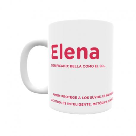 Taza - Elena