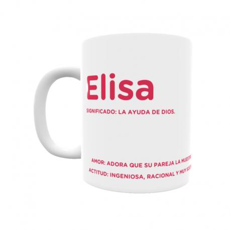 Taza - Elisa