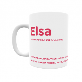 Taza - Elsa