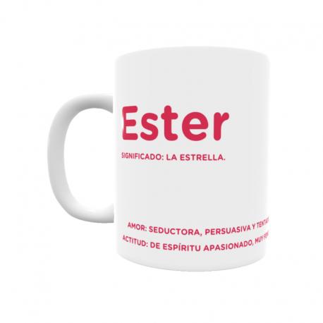 Taza - Ester