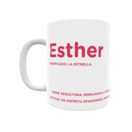 Taza - Esther
