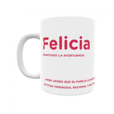 Taza - Felicia