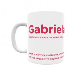 Taza - Gabriela