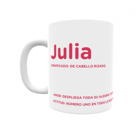 Taza - Julia