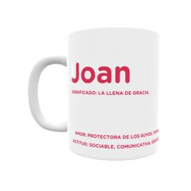 Taza - Joan