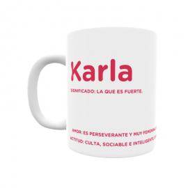 Taza - Karla