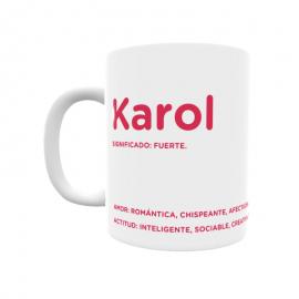 Taza - Karol