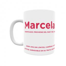 Taza - Marcela