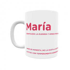 Taza - María