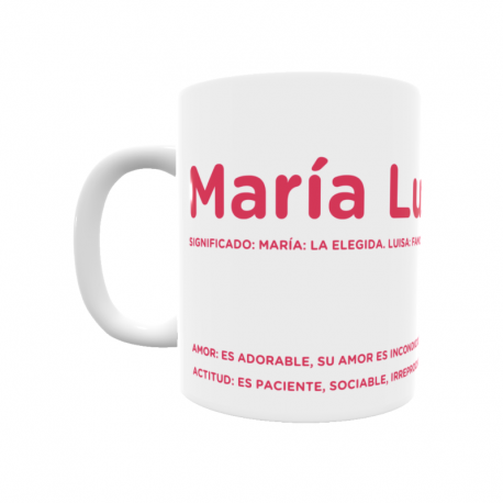Taza - María Luisa