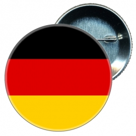 Chapa 58 mm Bandera Alemania