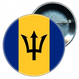 Chapa 58 mm Bandera Barbados