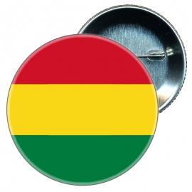 Chapa 58 mm Bandera Bolivia
