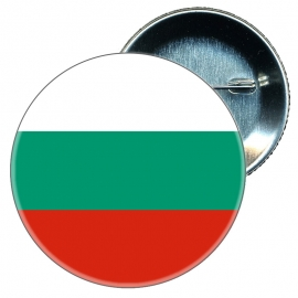 Chapa 58 mm Bandera Bulgaria