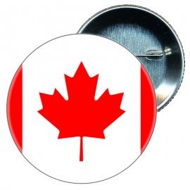 Chapa 58 mm Bandera Canada