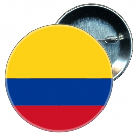 Chapa 58 mm Bandera Colombia