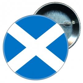 Chapa 58 mm Bandera Escocia