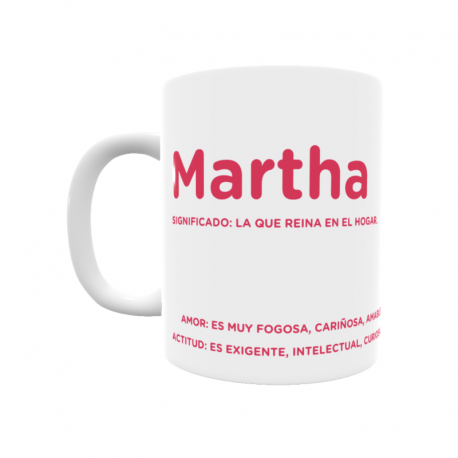 Taza - Martha