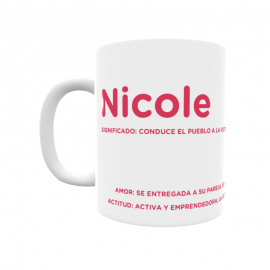 Taza - Nicole