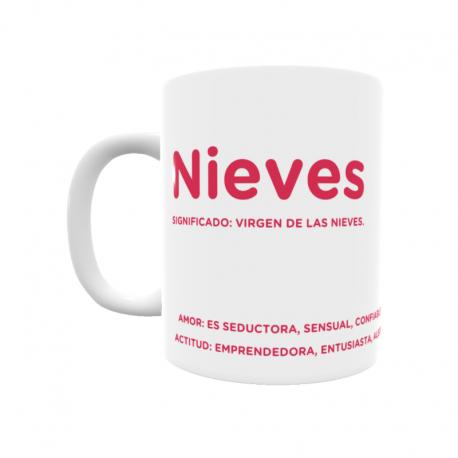 Taza - Nieves