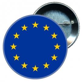 Chapa 58 mm Bandera Europa EU