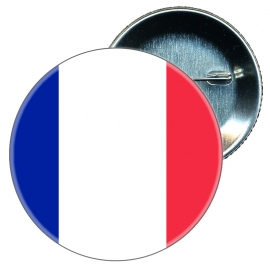 Chapa 58 mm Bandera Francia