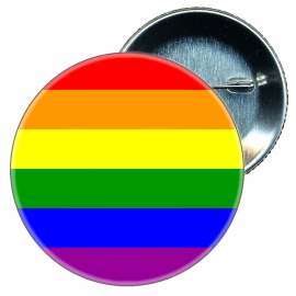 Chapa 58 mm Bandera Gay