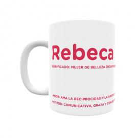 Taza - Rebeca