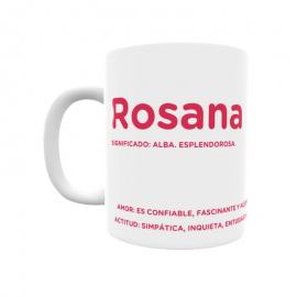 Taza - Rosana