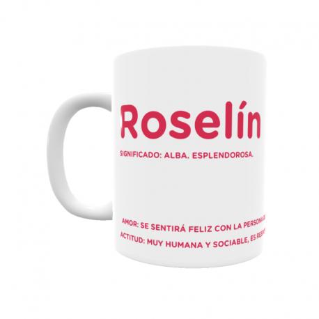 Taza - Roselín