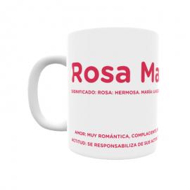 Taza - Rosa María