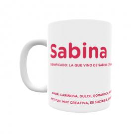 Taza - Sabina