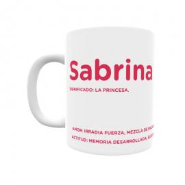 Taza - Sabrina