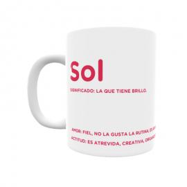 Taza - Sol
