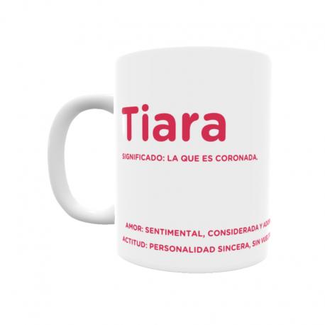 Taza - Tiara