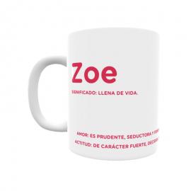 Taza - Zoe