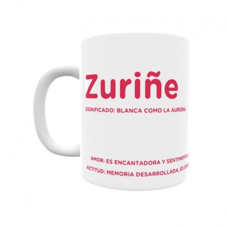 Taza - Zuriñe