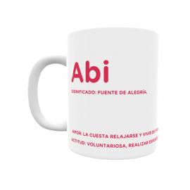 Taza - Abi