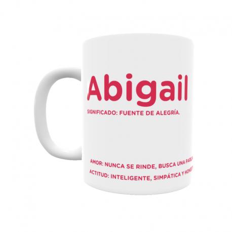 Taza - Abigail